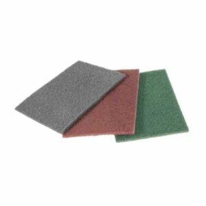 Pliego de fibra abrasivo